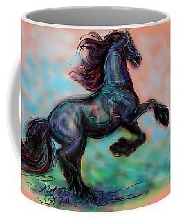 Modern Royal Friesian Coffee Mug