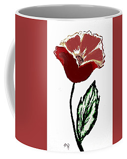 Modernized Flower Coffee Mug