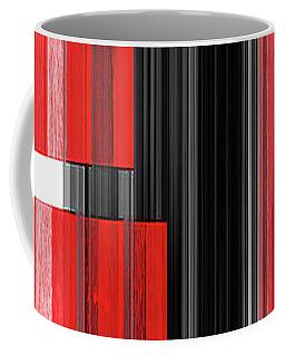 Coffee Mug featuring the mixed media Modus Operandi by Sir Josef - Social Critic - ART