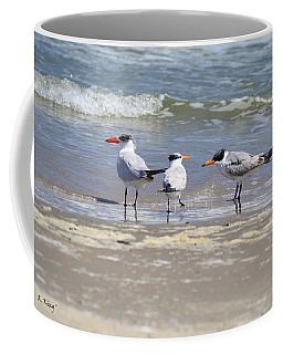 Moe And Larry And Curlie Coffee Mug