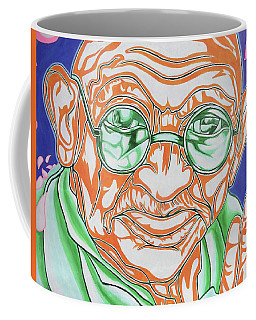 Coffee Mug featuring the photograph Mohandas Karamchand Gandhi  by Juergen Weiss