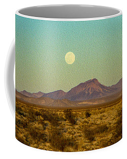 Mohave Desert Moon Coffee Mug