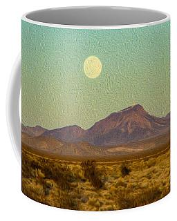 Mohave Desert Moon Coffee Mug
