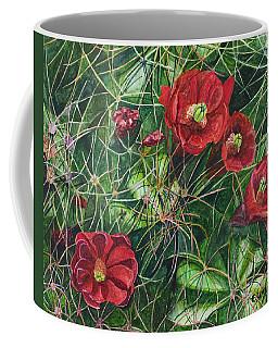 Mohave Mound Cactus Coffee Mug