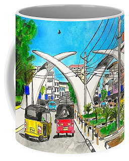 Moi Ave, Mombasa Tusks  Coffee Mug