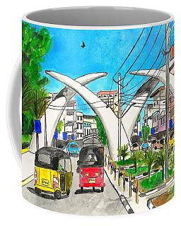 Moi Ave, Mombasa Tusks  Coffee Mug