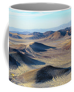Coffee Mug featuring the photograph Mojave Desert by Jim Thompson