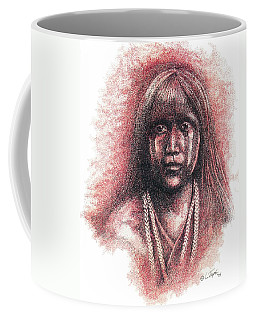 Mojave Girl Coffee Mug by Lawrence Tripoli