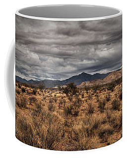 Coffee Mug featuring the photograph Mojave Landscape 001 by Lance Vaughn