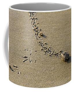 Mole Crab On The Move Coffee Mug