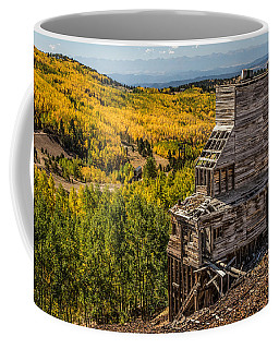 Mollie Kathleen Gold Mine In Autumn Coffee Mug