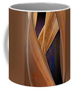 Molten Wood Coffee Mug