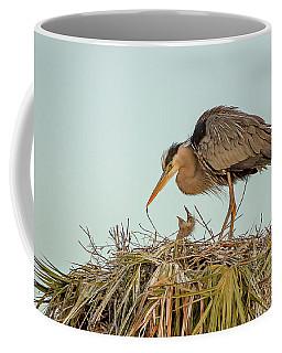 Mom And Chick Coffee Mug