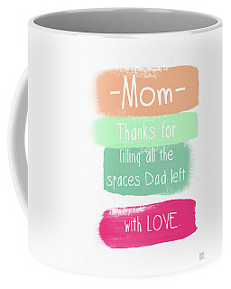 Mom On Father's Day- Greeting Card Coffee Mug