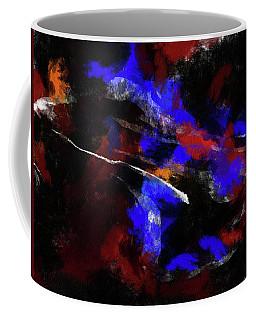 Moment In Blue Night Sky Coffee Mug