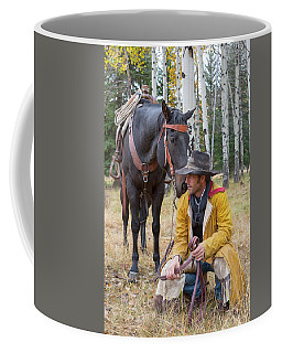 Coffee Mug featuring the photograph Moment Of Reflection by Jack Bell