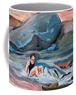 Momma At Slide Rock Park Arizona Coffee Mug