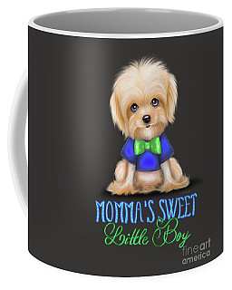 Mommas Sweet Little Boy Coffee Mug