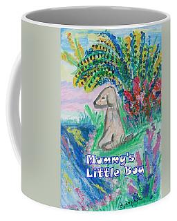 Mommy's Little Boy Coffee Mug