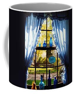 Mom's Kitchen Window Coffee Mug by John Scates