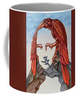 Mona Lisa. Air. Coffee Mug