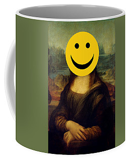 Mona Lisa Smiley Coffee Mug