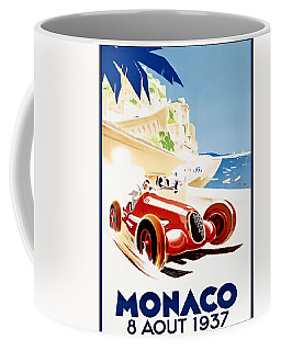 Monaco Grand Prix 1937 Coffee Mug