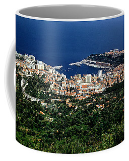Monaco Harbor, Mediterranean Sea Coffee Mug