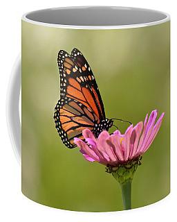 Coffee Mug featuring the photograph Monarch 2 by Ann Bridges