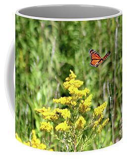 Monarch And Goldenrod Coffee Mug