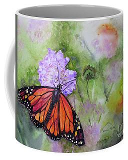 Monarch Butterfly Coffee Mug by Bonnie Rinier