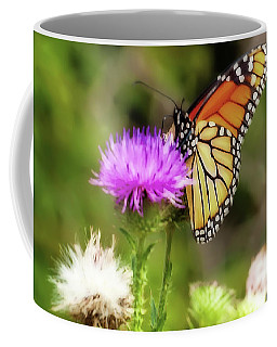 Monarch Butterfly Dreams Coffee Mug