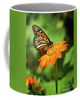 Monarch Butterfly II Vertical Coffee Mug