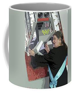 Monarch Facing Artificial Intelligence Coffee Mug