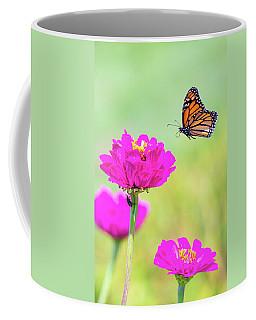 Monarch In Flight 1 Coffee Mug