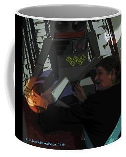 Monarch With Robot And Venus And Mars  Coffee Mug