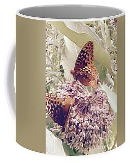 Monarch's On Milkweed Coffee Mug
