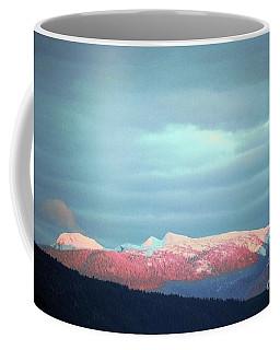 Monashee Sunset Coffee Mug by Victor K
