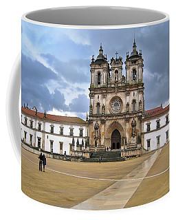 Coffee Mug featuring the photograph Monastery Of Alcobaca Portugal by Menega Sabidussi