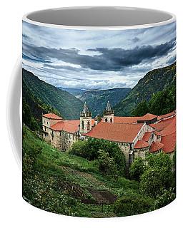 Monastery Of Santo Estevo De Ribas Del Sil Coffee Mug