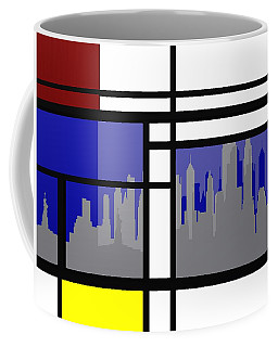 Mondrian In N Y Coffee Mug