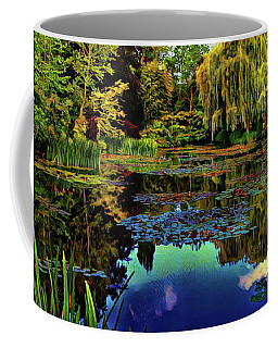 Monet's Flower Garden - Water Lilies Coffee Mug