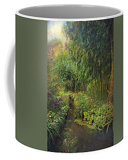 Monets Paradise Coffee Mug by John Rivera