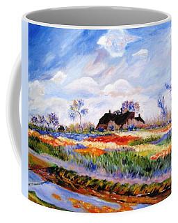 Monet's Tulips Coffee Mug by Jamie Frier