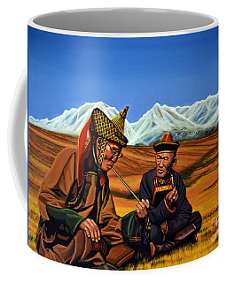 Mongolia Land Of The Eternal Blue Sky Coffee Mug