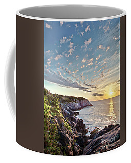 Monhegan East Shore Coffee Mug by Tom Cameron