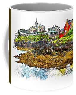 Monhegan West Shore Coffee Mug