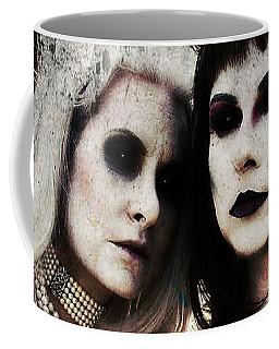 Coffee Mug featuring the digital art Monique And Ryli 1 by Mark Baranowski