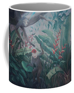 Monkees In The Jungle Coffee Mug