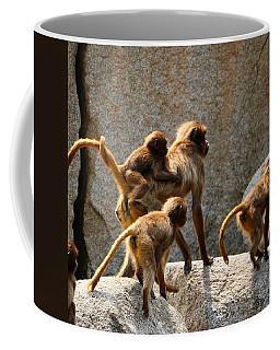 Monkey Family Coffee Mug